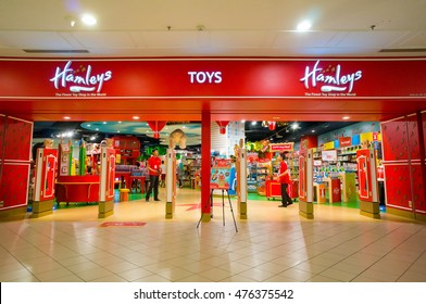 KUALA LUMPUR, MALAYSIA - AUGUST 28, 2016 : Hamleys Toy Shop at The Curve Mall. Hamleys is an international toys and games retailer with stores all over the world