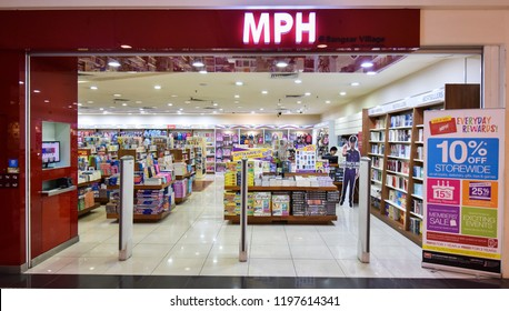 Kuala Lumpur, Malaysia - August 30, 2018 : View of MPH bookstore. MPH Bookstores is among the largest retail bookstore chains in Malaysia