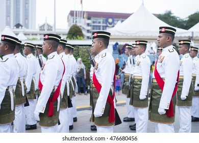 Kuala Lumpur, Malaysia - August 31, 2016: Merdeka Day celebration is held in commemoration of Malaysia's Independence Day at Dataran Merdeka, one of the most colorful events celebrated annually.