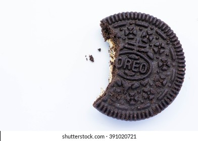 KUALA LUMPUR, MALAYSIA - AUGUST 3rd 2015. Oreo Cookies. Oreo is a sandwich cookie with a sweet cream is the best selling cookie in the US.