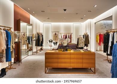 KUALA LUMPUR, MALAYSIA - CIRCA JANUARY, 2020: interior shot of Suria KLCC shopping mall in Kuala Lumpur.