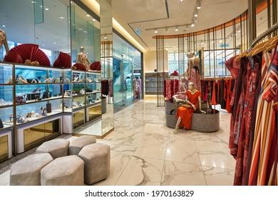 KUALA LUMPUR, MALAYSIA - CIRCA JANUARY, 2020: interior shot of Eclipse store in Pavilion Kuala Lumpur shopping centre.