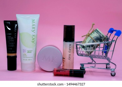 """""""Kuala Lumpur, Malaysia- Circa September, 2019: A picture of  Mary Kay product that help to save money from plastic surgery."""""""