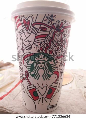 Kuala Lumpur Malaysia Dec 2017 Starbucks Stock Photo Edit Now