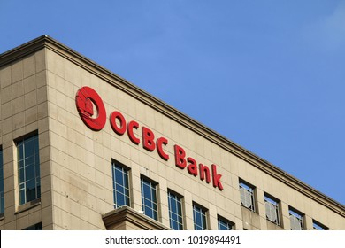 KUALA LUMPUR, MALAYSIA - DECEMBER 03, 2017: OCBC Bank is a publicly listed financial services organisation with its head office in Singapore.
