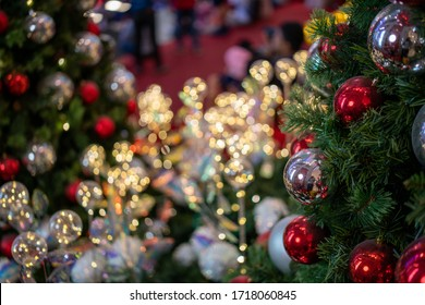 Kuala Lumpur, Malaysia – December, 2019: Beautiful Christmas decoration at Pavilion, Kuala Lumpur. This is one of the high class shopping mall in Kuala Lumpur.