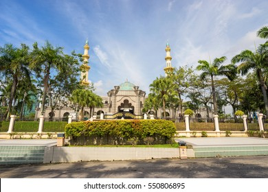 Kuala Lumpur, Malaysia - December 24, 2016 : Mosque Masjid Wilayah Persekutuan at Kuala Lumpur, Malaysia