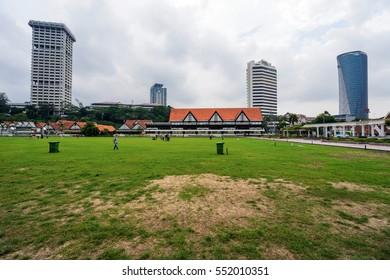 Kuala lumpur, Malaysia - December 25, 2016 : Merdeka Square in downtown Kuala Lumpur