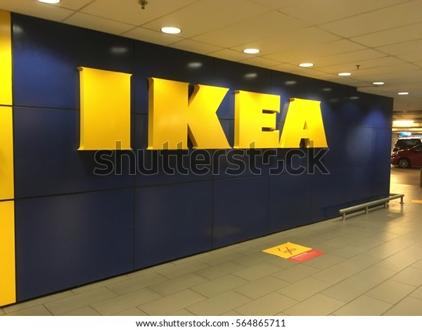 KUALA LUMPUR, MALAYSIA - DECEMBER 8, 2016 : The Ikea store of Malaysia. IKEA is the world's largest furniture retailer and sells ready to assemble furniture. Founded in Sweden in 1943.