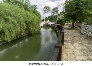 Kuala Lumpur, Malaysia - Jan 22, 2017 : Perdana Botanical Garden in Kuala Lumpur.