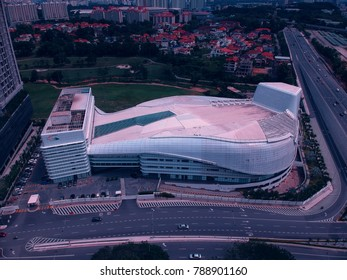 Kuala Lumpur, Malaysia: Jan 7, 2017:  Calvary Convention Centre (CCC) Bukit Jalil Malaysia. The biggest modern church in Malaysia and the whole of Asia to be specific.