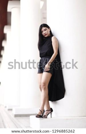 cf9bf434ad523 Kuala Lumpur, Malaysia - January 2019. Beautiful and cute portraiture of  young Asian women