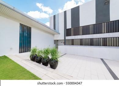 Kuala Lumpur, Malaysia - January 6, 2017 : Modern exterior design building , Malaysia .