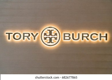KUALA LUMPUR, MALAYSIA - JULY 11, 2017: Tory Burch Store. Tory Burch is an American fashion designer, businesswoman, and philanthropist, who has won several fashion awards for her designs.