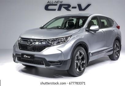 KUALA LUMPUR, MALAYSIA : JULY 12, 2017 : Sport Utility Vehicle (SUV), Honda CR-V.