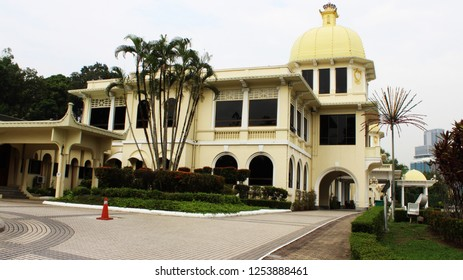 Kuala Lumpur, Malaysia, March 29, 2014. View of the Royal Istana Negara Museum
