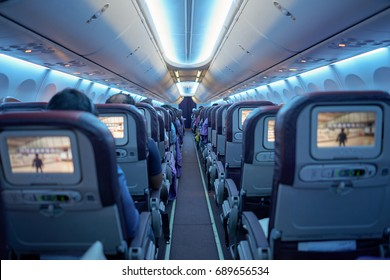 Airplane Interior Images Stock Photos Vectors