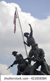 KUALA LUMPUR, MALAYSIA -MAY 15, 2016: Tugu Negara or National Monument is a monument to commemorate for those who died during World War II and the Malayan Emergency.