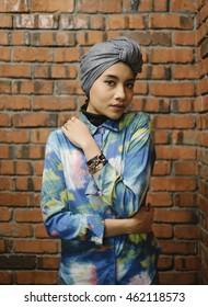 KUALA LUMPUR, MALAYSIA - MAY 28, 2014: Malaysian born singer-songwriter, Yuna.