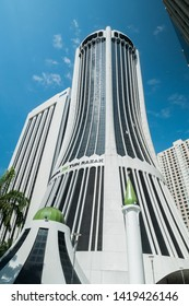 Kuala Lumpur, Malaysia - May 28,2019 : Menara TH Tun Razak is the premiere Islamic financial and hajj institution in Malaysia, a statutory body setup by the Government of Malaysia in 1963.