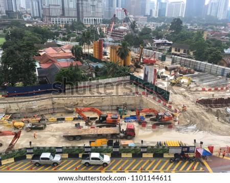 Kuala Lumpur Malaysia May 302018 Construction Stock Photo Edit Now