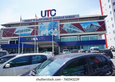 KUALA LUMPUR, MALAYSIA - NOV 22, 2017: The Urban Transformasi Centre(UTC) or Pusat Transformasi Bandar is a public amenities centre located at some state capitals and urban areas in Malaysia.