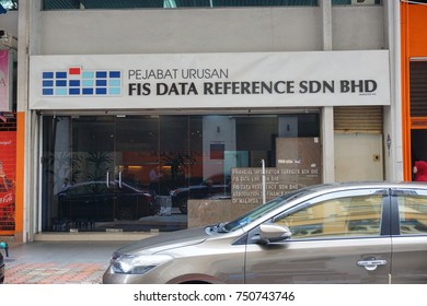Kuala Lumpur, Malaysia - Nov 7, 2017: FIS Data Reference Sdn Bhd Office located at Kuala Lumpur,Malaysia.
