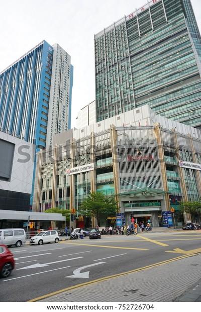 Kuala Lumpur Malaysia Nov 7 2017 Stock Photo Edit Now 752726704