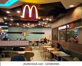 Kuala Lumpur / Malaysia - November 11 2018: McDonald's restaurant. McDonald's is an American fast food company, founded in 1940.