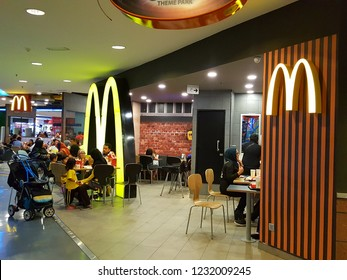 Kuala Lumpur / Malaysia - November 11 2018: McDonald's in Asia. McDonald's is an American fast food company, founded in 1940 as a restaurant operated by Richard and Maurice McDonald
