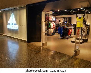 4830ccce3268 Kuala Lumpur   Malaysia - November 11 2018  Adidas store in shopping mall.  Adidas
