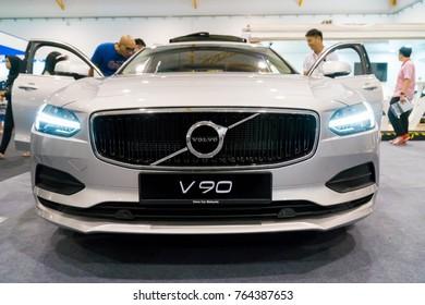 KUALA LUMPUR, MALAYSIA - NOVEMBER 12, 2017: Volvo V90 at motorshow in Kuala Lumpur, Malaysia.