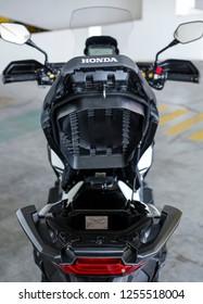 KUALA LUMPUR, MALAYSIA - NOVEMBER 15, 2018 : Honda X-ADV 745cc Adventure Scooter / Crossover Adventure Bike.