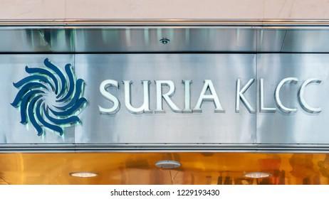 Kuala Lumpur, Malaysia  - November 27 2014: Suria KLCC, a mall in the Petronas Twin Tower complex
