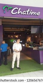 Kuala Lumpur / Malaysia - October 19 2018: Chatime milk tea shop