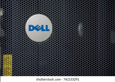 KUALA LUMPUR, MALAYSIA - OCTOBER 25, 2107 : Data center using DELL technologies system and hardware.