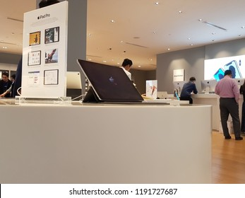 Kuala Lumpur, Malaysia. September 19, 2018. Machines Store was established in 2006 with the aim of being the one stop Apple reseller in Malaysia, and now the largest Apple Premium Reseller in Malaysia