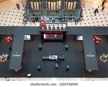 Kuala Lumpur, Malaysia. September 25, 2018. Centre Court of Suria Mall KLCC held a promotional launch of Tudor Watches