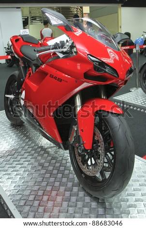 Kuala Lumpur Nov 12 Ducati Monster Stock Photo Edit Now 88683046