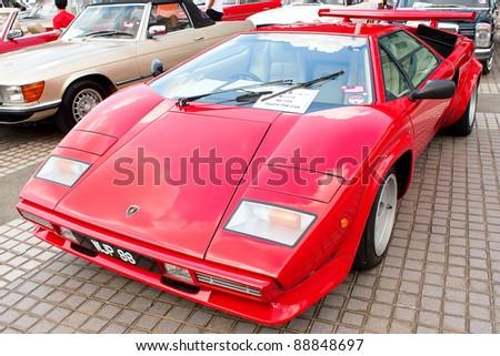 Kuala Lumpur Nov 13 Lamborghini Countach Stock Photo Edit Now