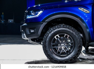 KUALA LUMPUR, Oct 25, 2018 - The launch of the Ford Ranger Raptor car at the Setia City Convention Center, Malaysia.