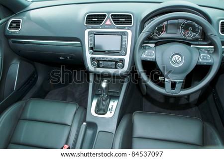 KUALA LUMPUR SEPT Interior VW EOS Stock Photo Edit Now - Eos car show