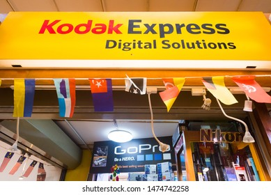 KUALA LUMPUR - SEPTEMBER 12, 2017: A Kodak Express boutique at the Central Market. Kodak Express is the world's largest branded photo processing network operating in 41 countries