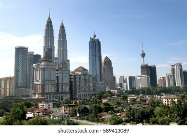 Kuala Lumpur and its surrounding urban areas form the most economically growing region in Malaysia on December 1, 2015