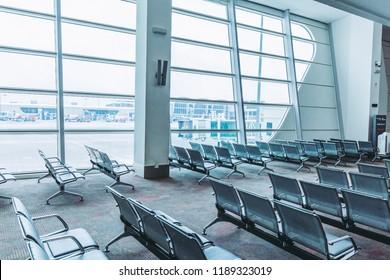 Kuala Lumpur,Malaysia - May 18,2018 -  Kuala Lumpur International Airport is a leading Asia's aviation hub. Situated in the Sepang district.