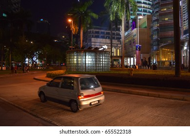 KUALA LUMPUR/MALAYSIA - SEPTEMBER 10 2016: Kuala Lumpur centre. Malaysia