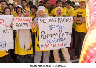 Kuala Lumpur,Nov 19,2016, Bersih for clean and fair election protest