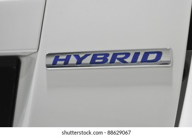 KUALA LUMPUR-NOV.12:Honda Hybrid Insight logo at Car of The Year2U Autoshow (COTY2U 2011) on November 12, 2011 in Kuala Lumpur, Malaysia.It uses Honda's Integrated Motor Assist (IMA) hybrid technology