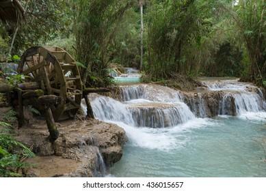 Kuang Si Water Falls