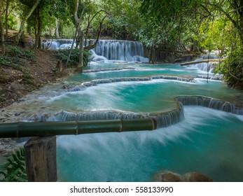 Kuang si waterfall,Luang Prabang,Laos